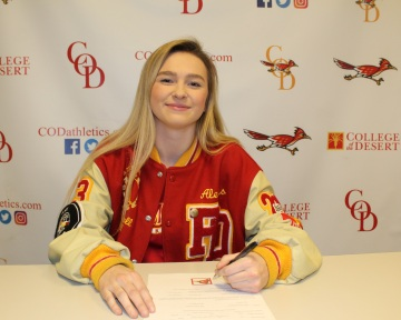 Palm Desert Basketball Star Alexis Legan Keeps Talent Local, Signs With College of the Desert