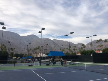 Locals Star In National Collegiate Tennis Classic