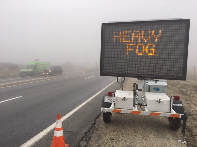 Overnight Showers Cause Havoc On Valley Roads, More Showers Expected