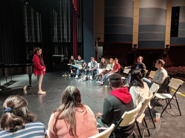 'Jersey Boys' Actors Share Theater Advice with Local Students