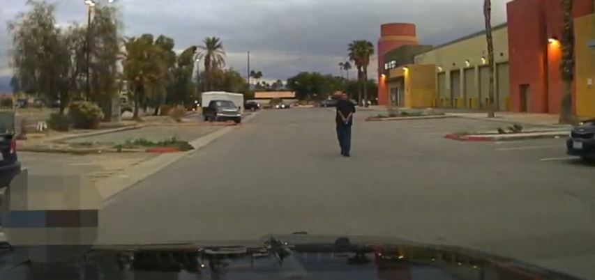 Police Release Video of Officer Involved Shooting in Cathedral City