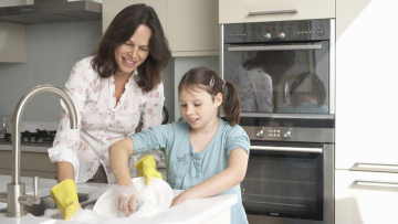 Kids whose parents make them do chores are more successful