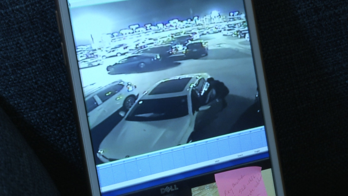 Car Thieves Target I-10 Auto Mall