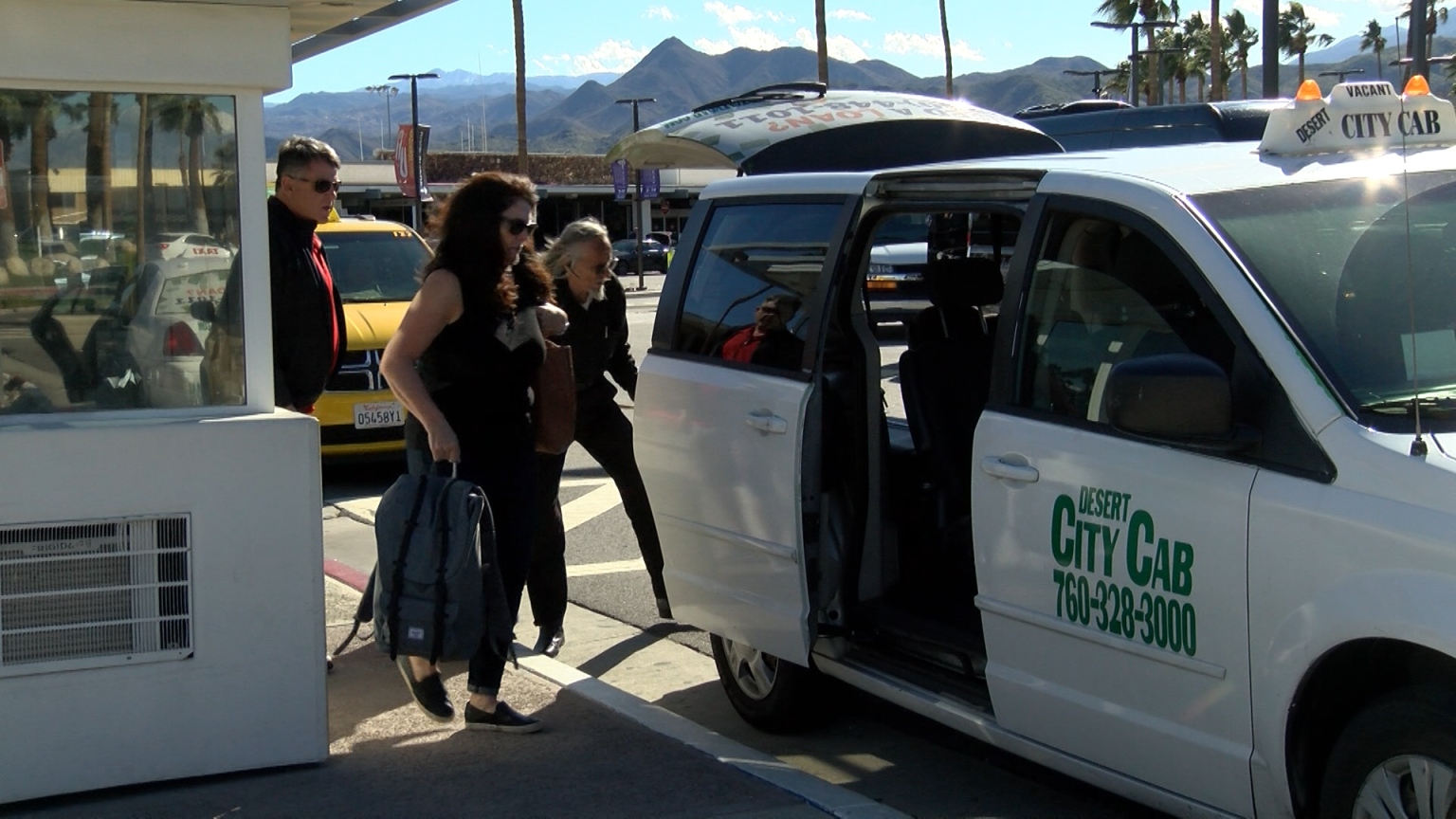 Passenger pick-up system used by taxi drivers down for months