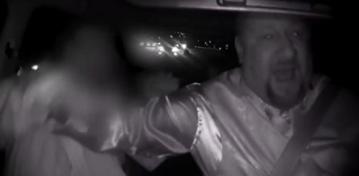 'We're Gonna Die': Uber Passenger Tries to Take the Wheel on 8-Lane Freeway