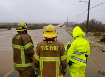 Three People Rescued from Swift Waters in Cabazon