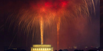 President Trump Announces Huge 4th of July Celebration at Lincoln Memorial