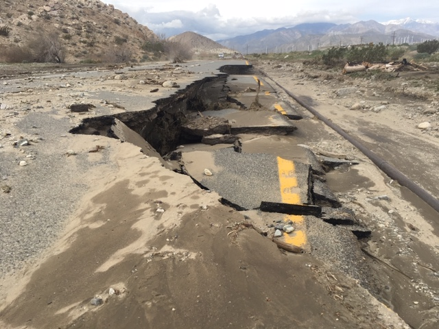 Palm Springs Residents Trapped In Neighborhood During Storm