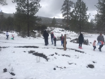 Snowfall At Lower Elevations Drawing Locals And Visitors To Surrounding Mountains