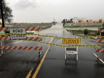 Post-Christmas Downpour Could Bring Flooding to the Coachella Valley