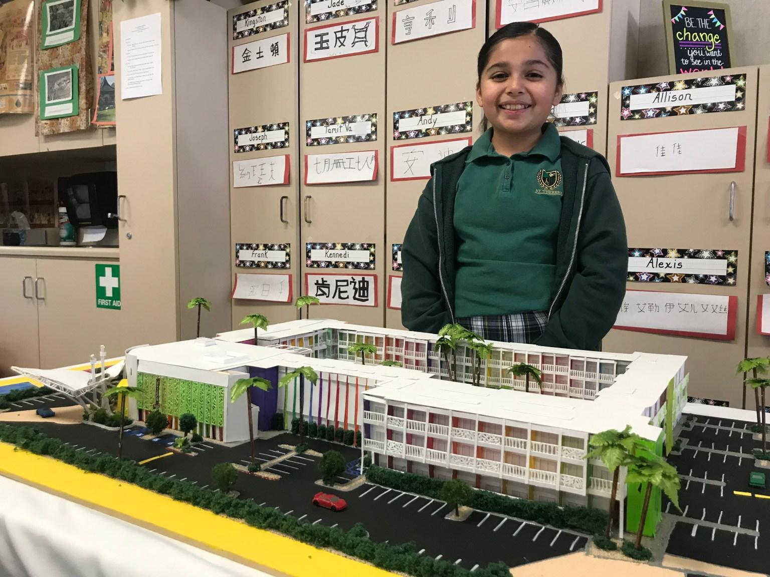 Students Take on Modernism Week