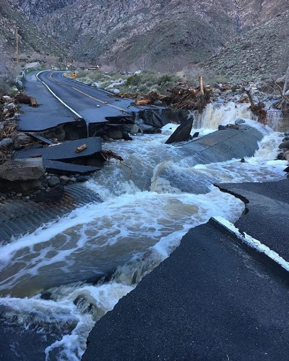 Palm Springs Aerial Tramway Shutdown Due to Severe Damage From Storm