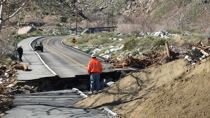 Tramway Road Undergoes First Day of Construction