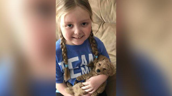 7-year-old girl with inoperable brain tumor wants to receive letters from your dog