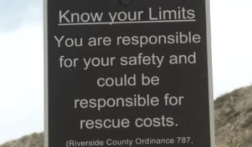 60-Year-Old Woman Rescued On Hiking Trail In Rancho Mirage