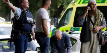 Mass Shootings at New Zealand Mosques Kill At Least 49; 1 Man Charged