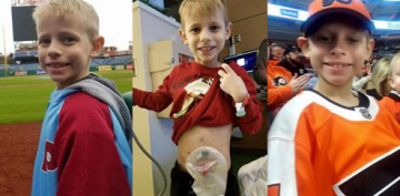 Dad Asks Public to Send B-Day Cards to Son Battling Disease