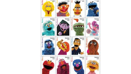 U.S. Postal Service Reveals 'Sesame Street' Stamps for 2019