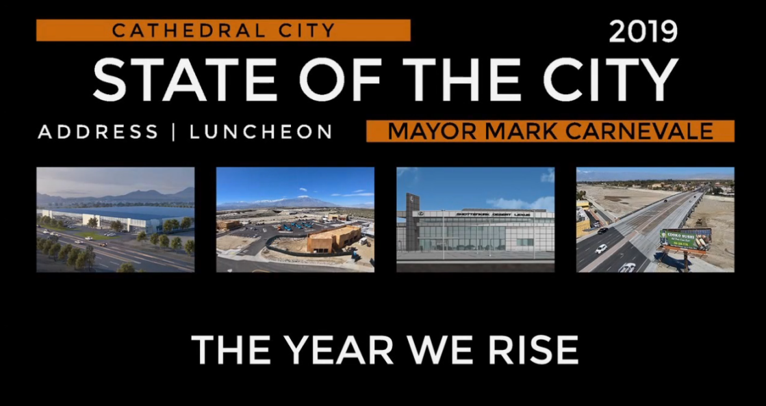 Cathedral City State of the City: The Year We Rise