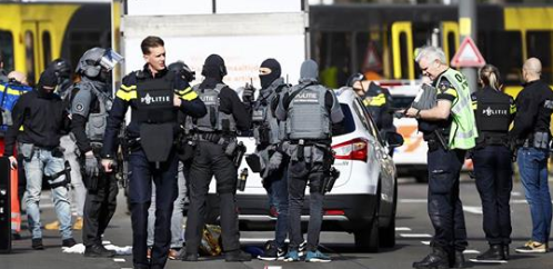 Suspect arrested after three killed on tram in Dutch town