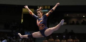 Gymnast who broke both legs wants people to stop sharing injury video
