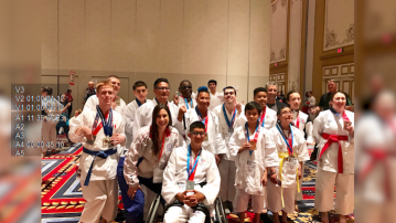 Local Autistic Athletes Receive Gold and Silver Medals at the USA Open