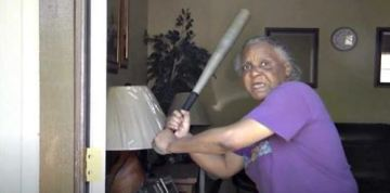 Grandmother fends off 300-pound, half-naked attacker with baseball bat