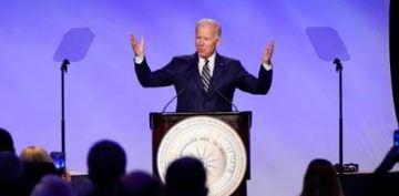 Biden cracks jokes about conduct that women found inappropriate