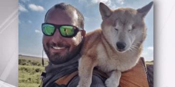 Man, Blind Dog Complete 1,100-Mile Hike Across Florida