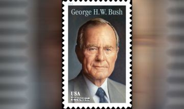 George H.W. Bush Honored With 'Forever' Stamp