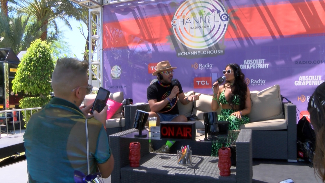 'Channel Q House' Among the Dozens of Festival Pop-ups