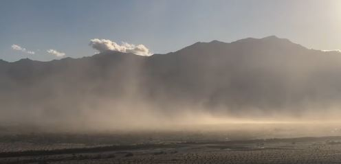 Relaxation Could Save Your Lungs As Strong Winds Whip Up Dust