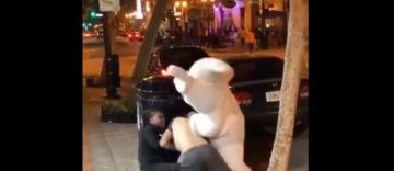 Hero Easter Bunny in Viral Florida Bar Brawl Video Is Wanted in New Jersey