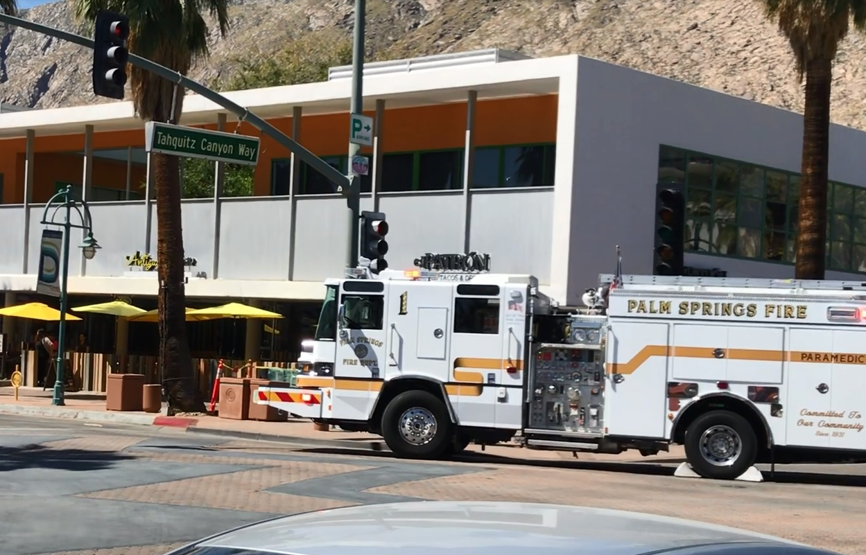 Explosion at Downtown Palm Springs Restaurant Injures One