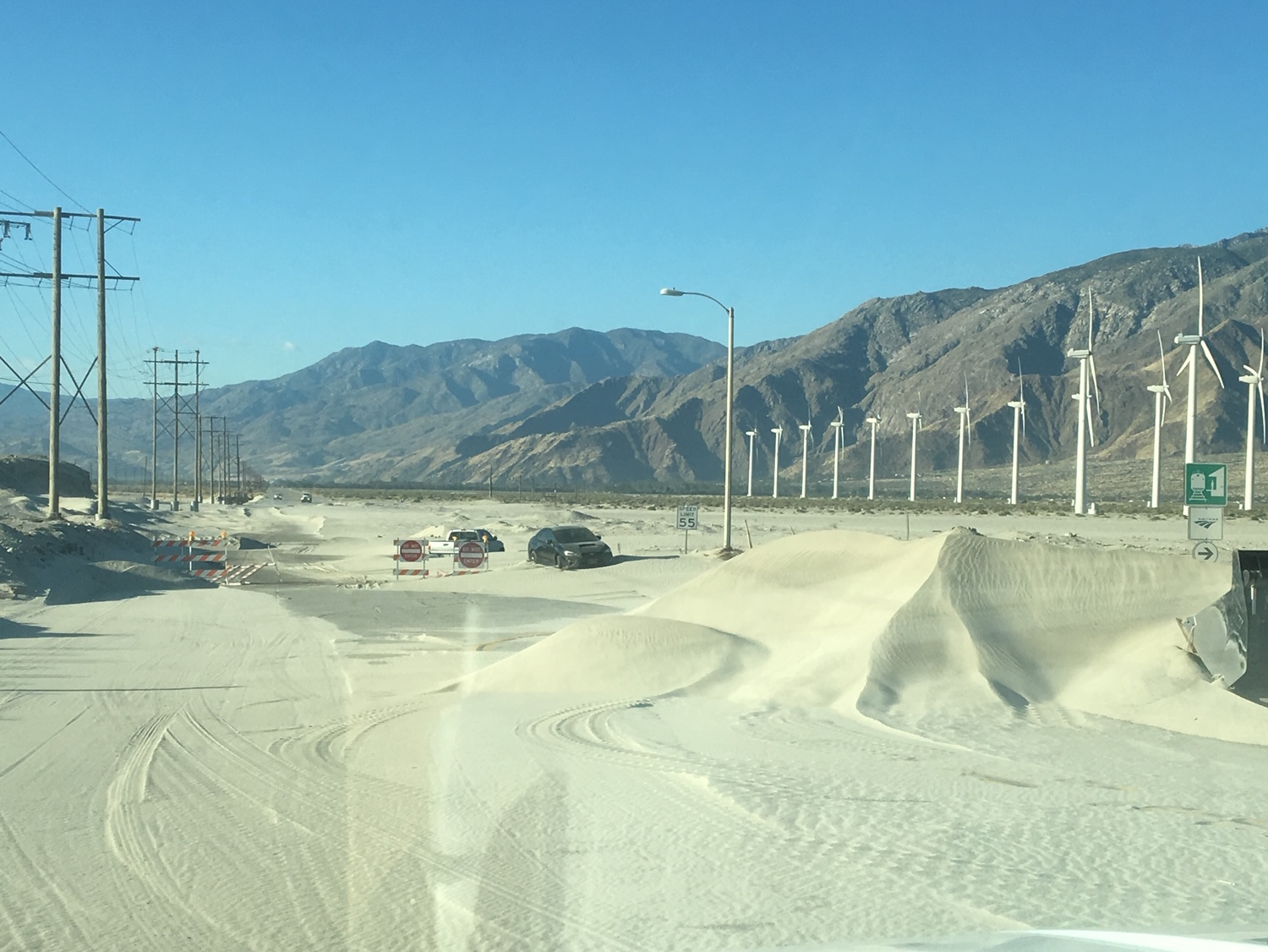 Sand Dunes Continue to Fill Indian Canyon, Palm Springs Unsure about Future Plans