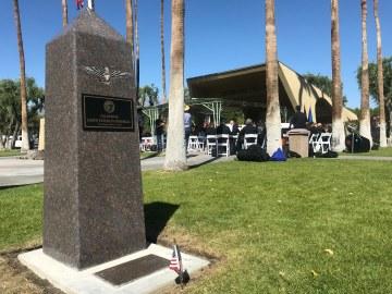 Cathedral City Unveils LGBTQ Veterans Memorial