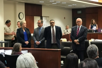 Trial Underway for Man Charged With Murdering Two Palm Springs Police Officers