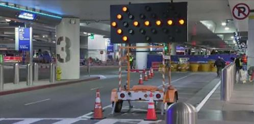 Three Lower-Level Lanes Will Be Closed Until Mid-August at LAX