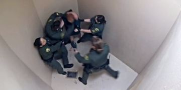 Video Released Showing Guards Beating Mentally Ill Inmate as Lawsuit Settles for $1.4 Million