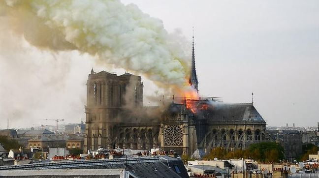 Notre Dame fire: The structure of the cathedral has been saved, official says