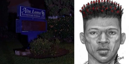 Police Release a Sketch of Man Wanted in Kidnap Attempt Near an Elementary School