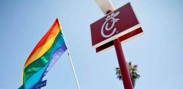 San Jose to hang rainbow flags at airport Chick-fil-A in support of LGBTQ rights