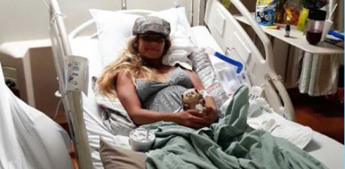 Waitress recovering after diving off pier to save child stuck in rip current