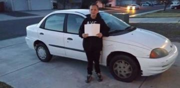 13-year-old trades in Xbox, does yard work to buy car for his single mother