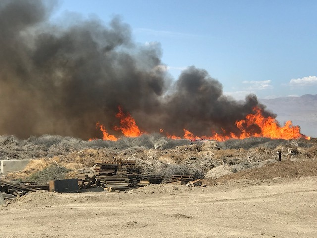 Thermal Fire Burns 51 Acres; Blythe Fire Contained