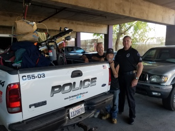Homeless Liaison Saves Man's Life