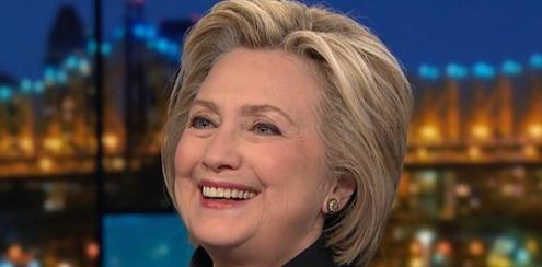 Hillary Clinton: 'I'm living rent free inside of Donald Trump's brain'