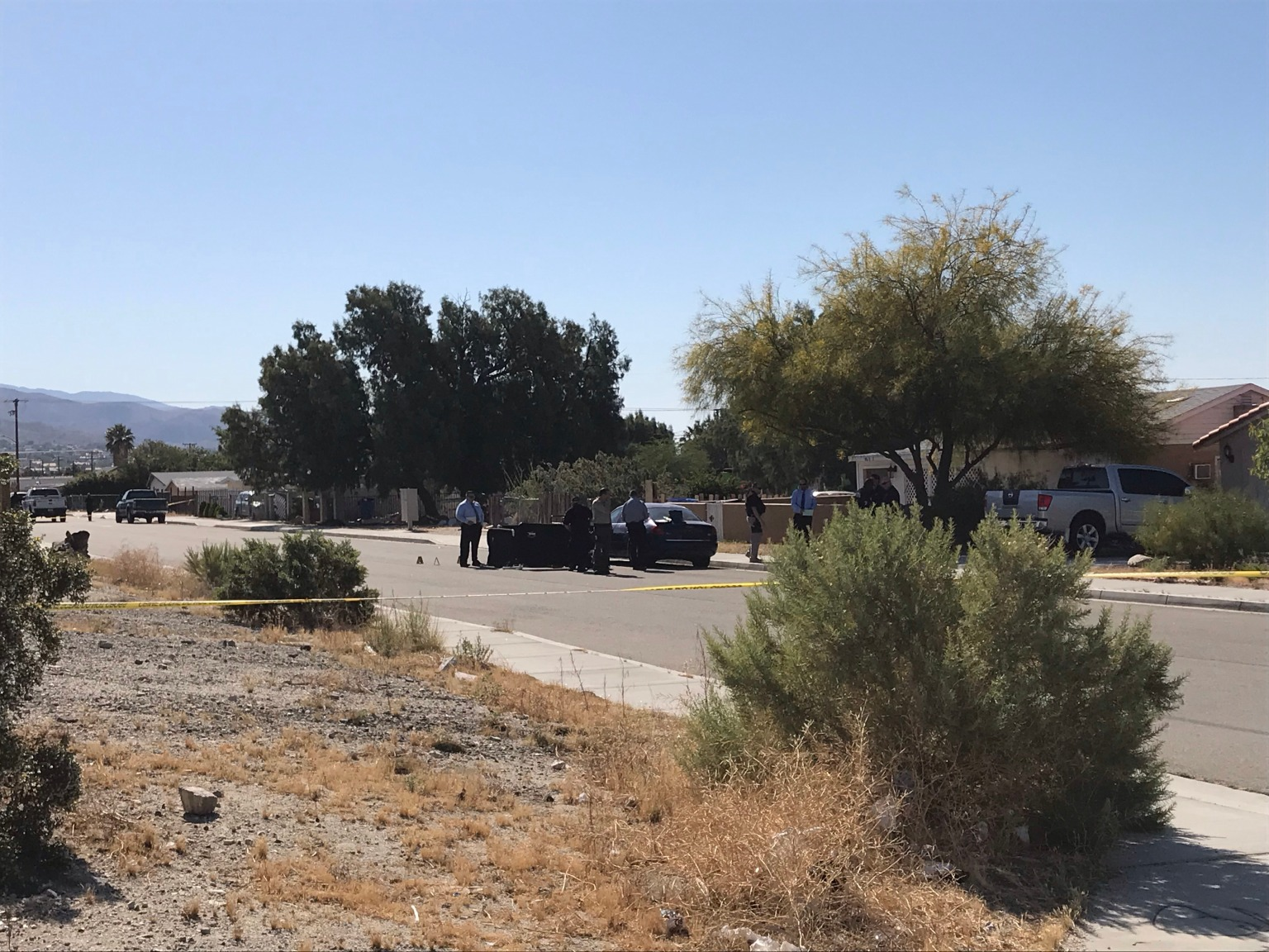 Person Of Interest Detained In Shooting Death of Man in Desert Hot Springs