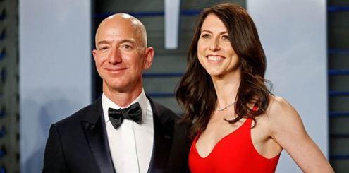 MacKenzie Bezos says she will donate half her roughly $37 billion to charity