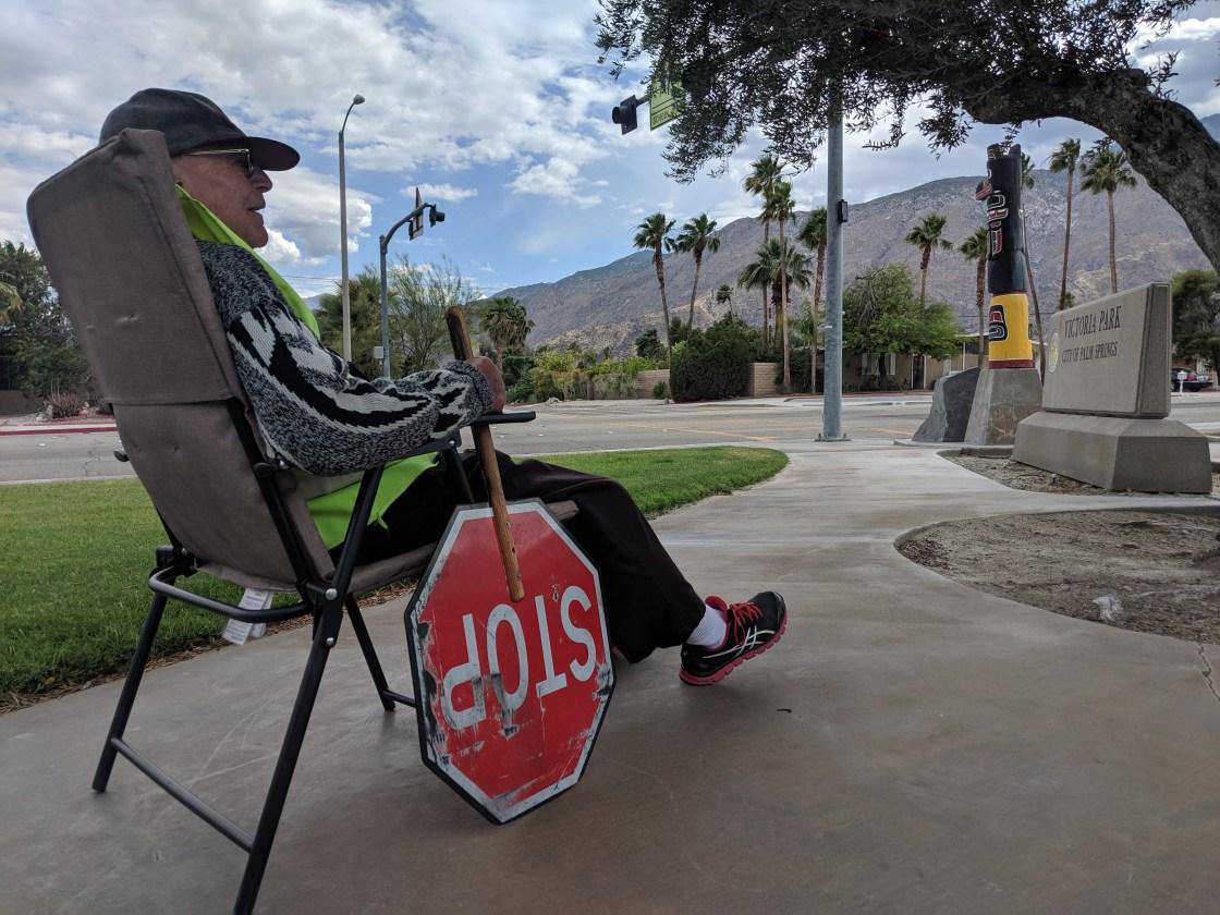 96-Year-Old Volunteer Cross Guard Honored by Community
